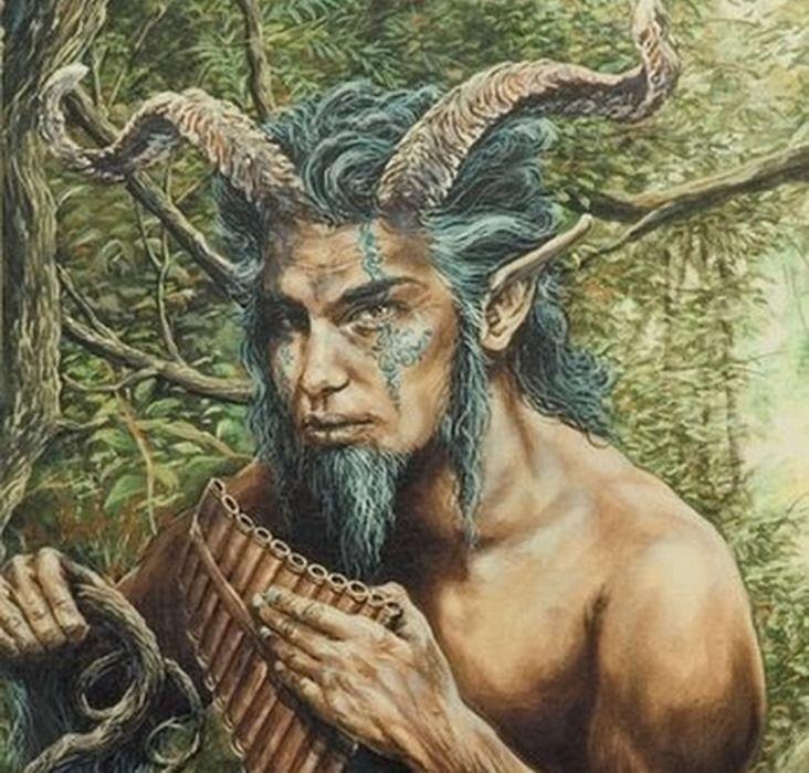 Древнегреческий миф: Пан
