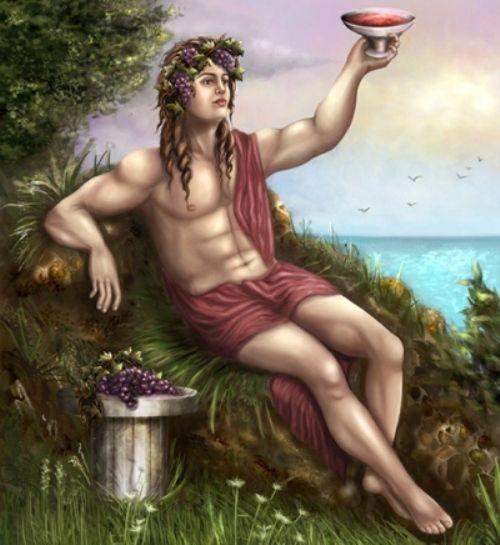 Дионис со свитой, миф