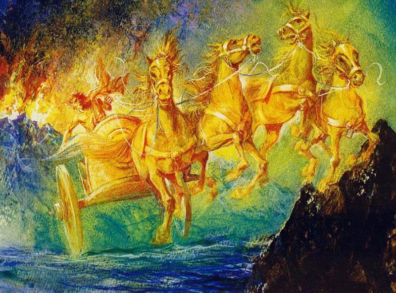 Фаэтон, древнегреческий миф
