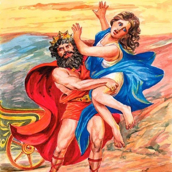 Похищение Персефоны Аидом, картинка