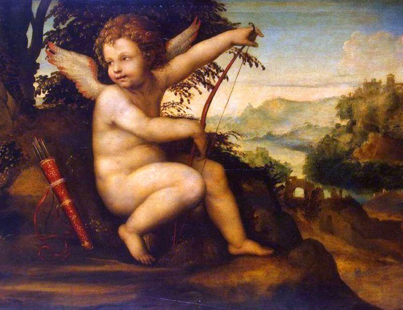 Эрот - бог любви, мифология