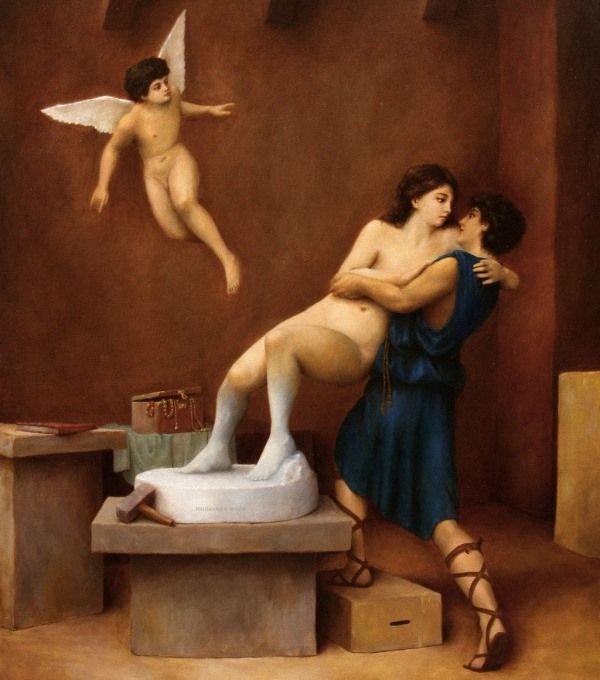 Пигмалион: мифология Древней Греции для детей