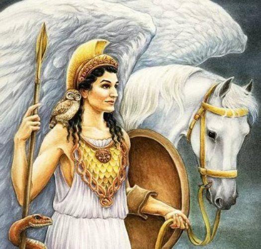 Афина-Паллада. древнегреческая мифология