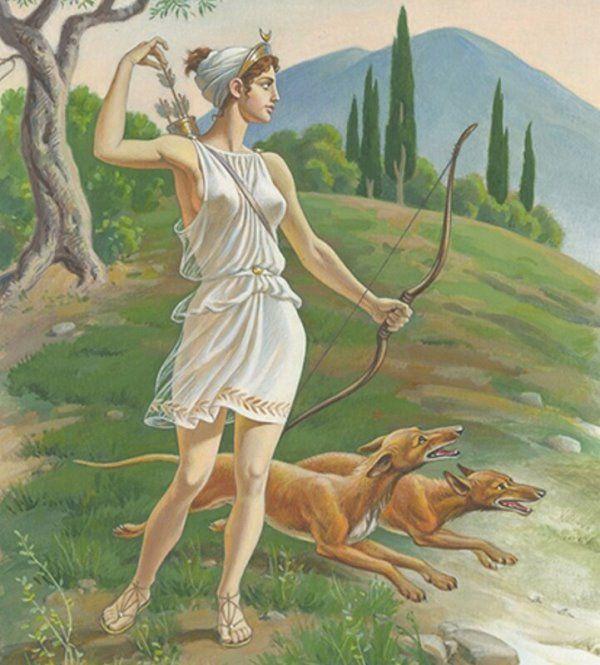 Артемида из греческих мифов