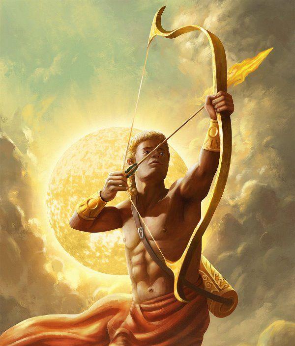 Рождение Аполлона, бога солнца