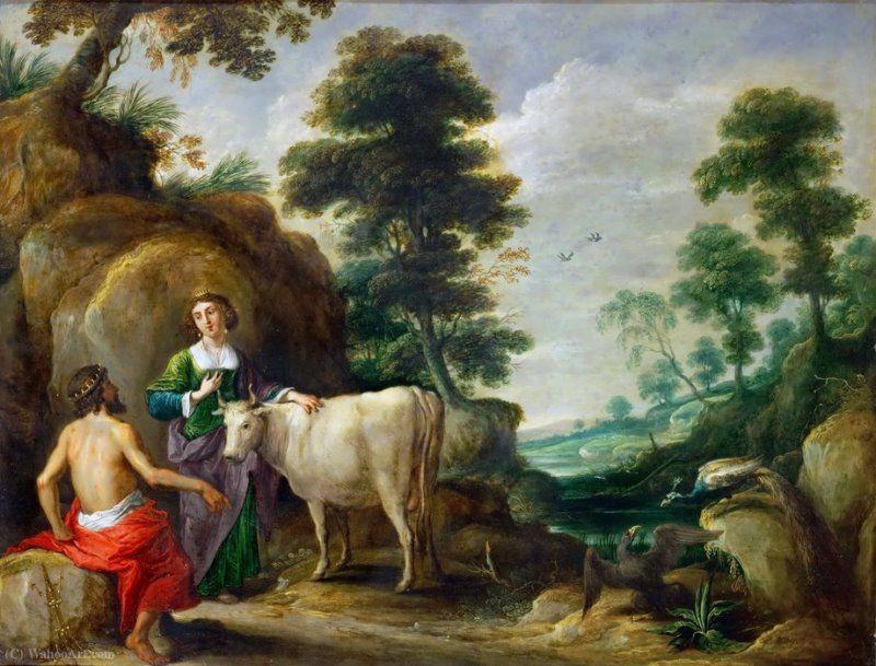 Ио, превращенная в корову