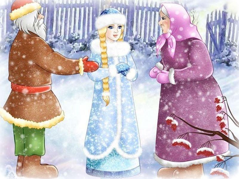 Снегурочка сказка для детей