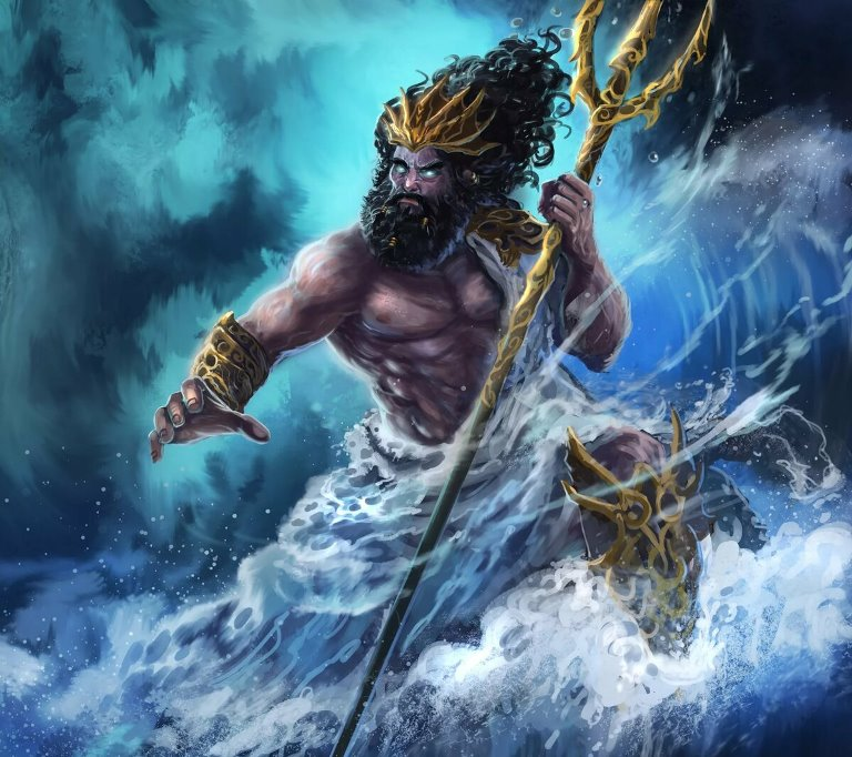 Посейдон из греческих мифов