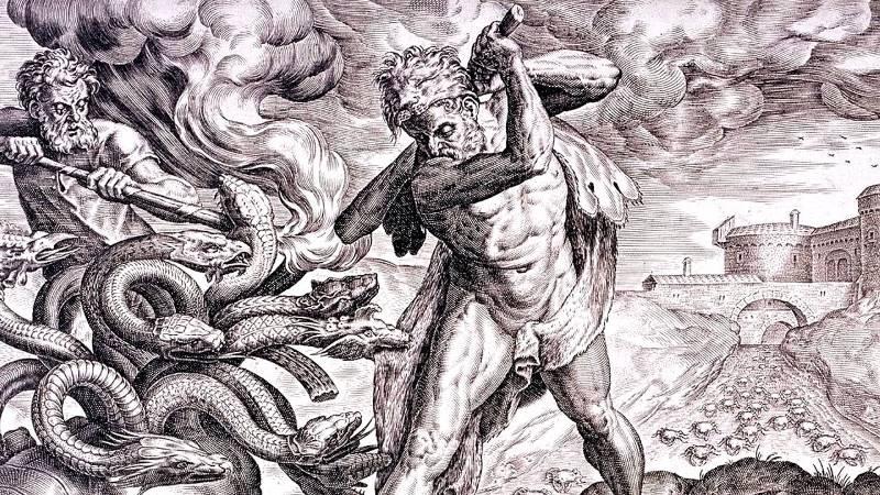 Борьба Зевса с Тифоном из мифов
