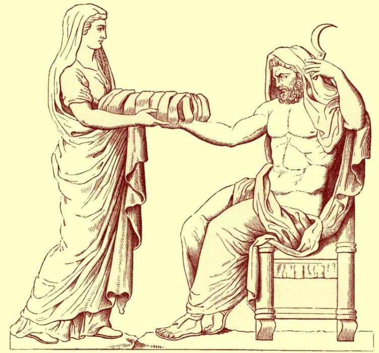 Рождение Зевса: древнегреческий миф