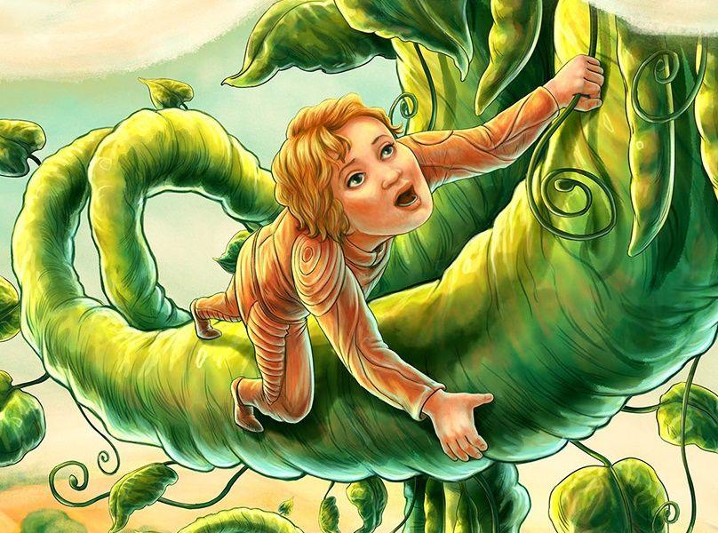 Джек и бобовый росток Английская народная сказка