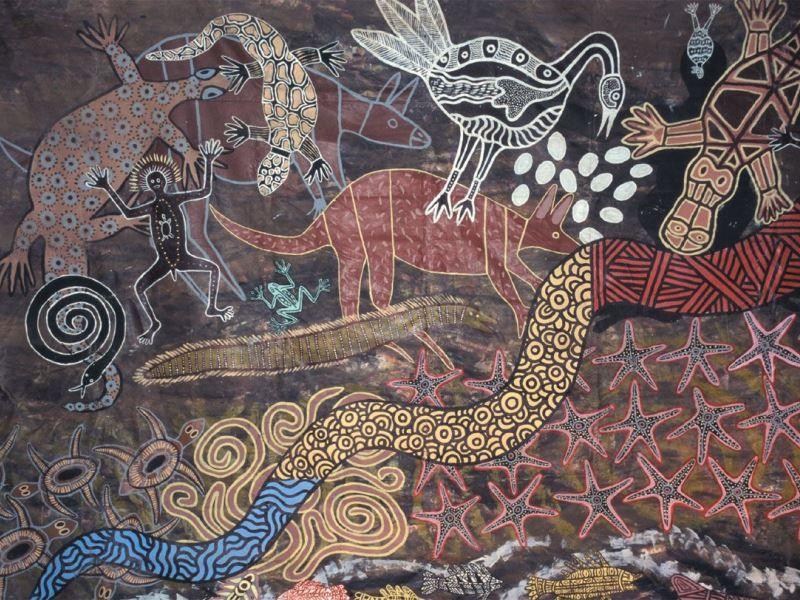 Откуда взялись звери, птицы и рыбы Сказки Австралии и Океании