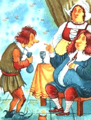 Мужичок: сказка братьев Гримм