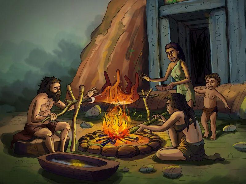 Как жители островов Торресового пролива обрели огонь Сказки Океании