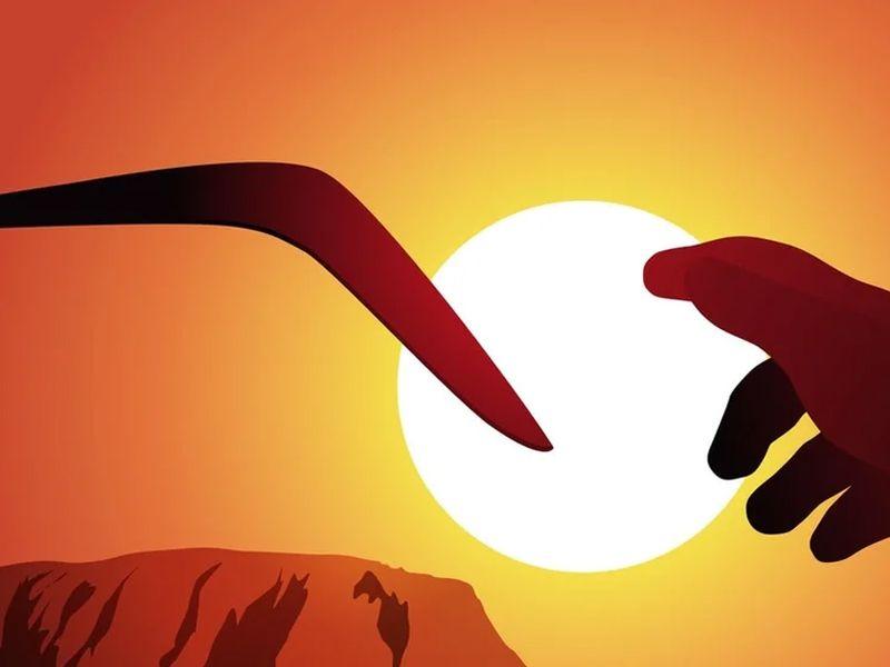Как бумеранг помог людям вырасти Австралийская народная сказка
