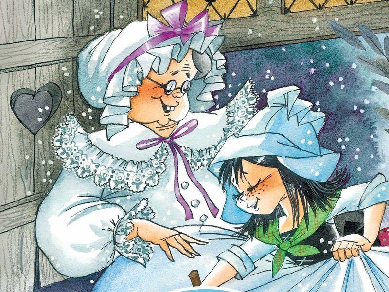 Метелица: немецкая народная сказка для детей