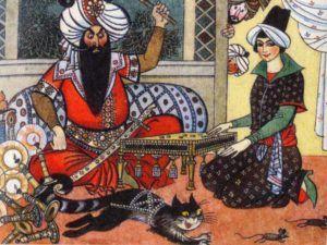 Девушка и шах   Азербайджанская народная сказка