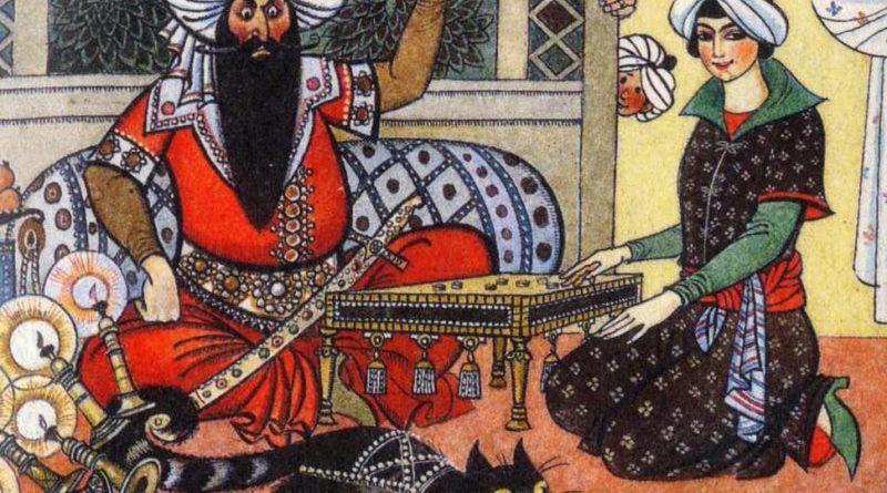 Девушка и шах / Азербайджанская народная сказка