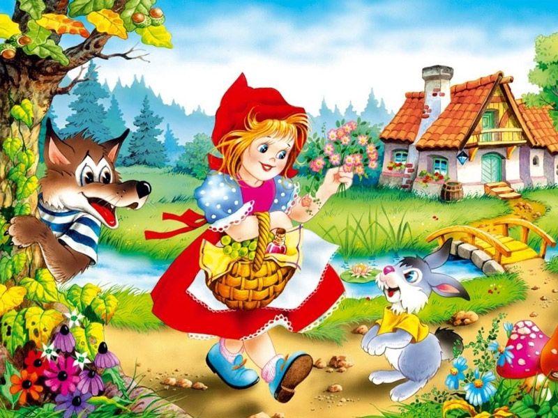 Красная шапочка: сказка Шарля Перро (оригинал)