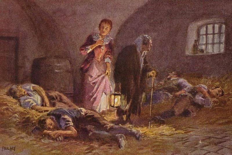 Разбойник-жених: сказка братьев Гримм