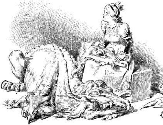 Подземный человечек: сказка братьев Гримм