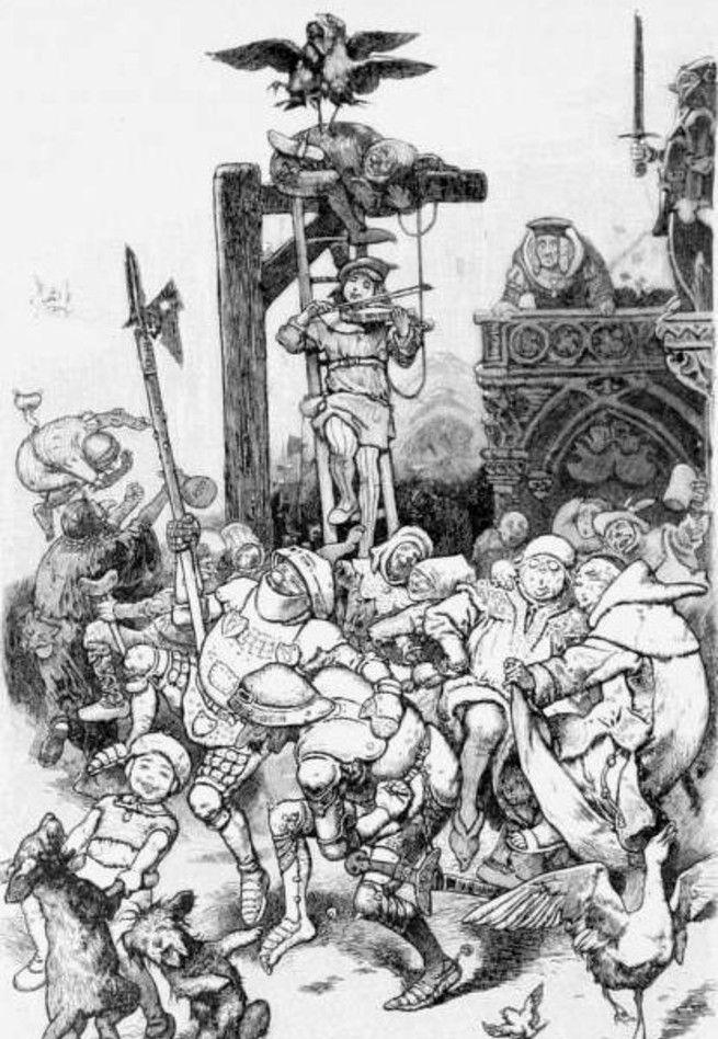Монах в терновнике: сказка братьев Гримм