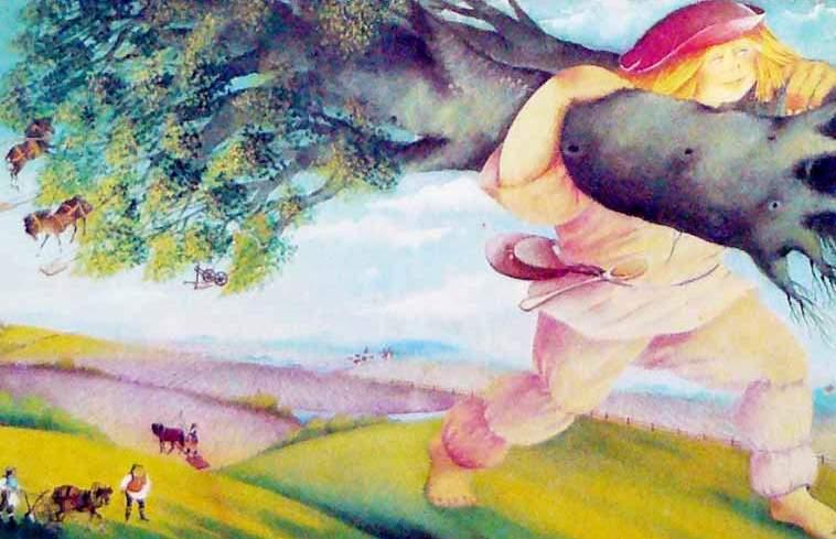 Молодой великан: сказка братьев Гримм