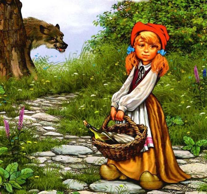 Красная шапочка: сказка братьев Гримм