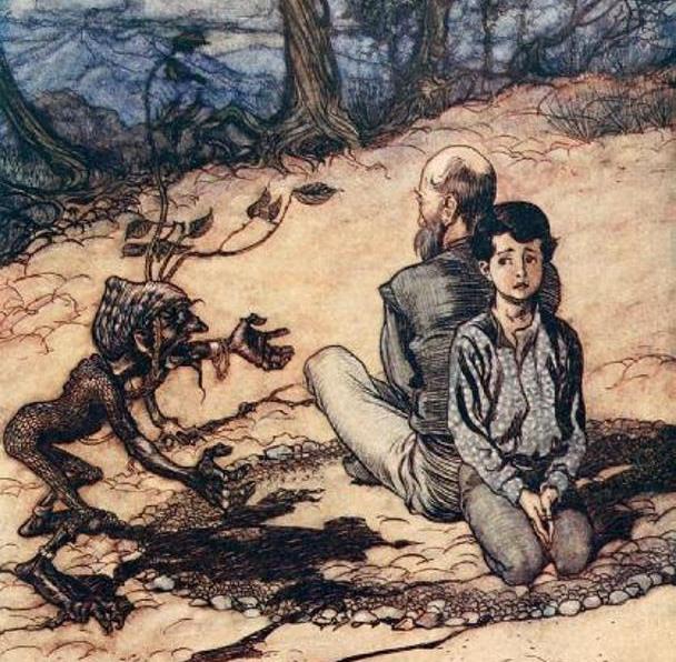 Король с Золотой горы: сказка братьев Гримм