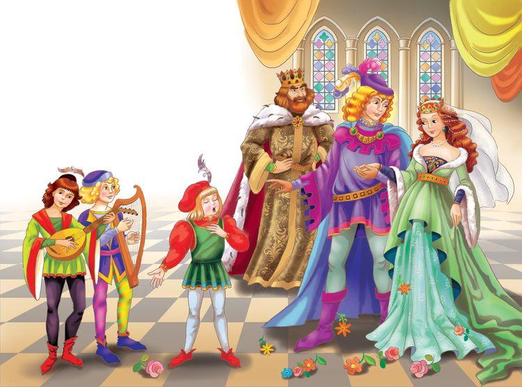 Королевские дети: сказка братьев Гримм