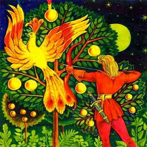 Золотая птица: сказка братьев Гримм
