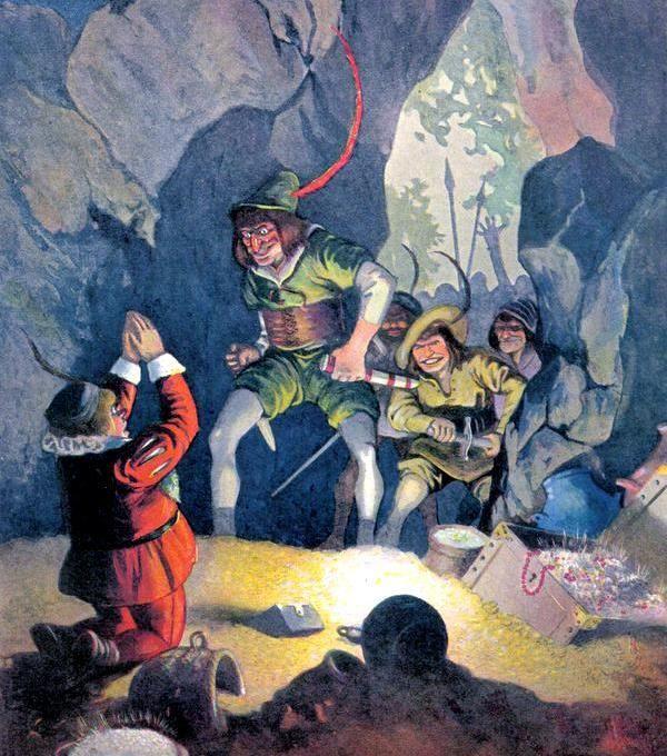 Зимели-гора: сказка братьев Гримм