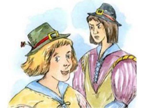 Два странника: сказка братьев Гримм