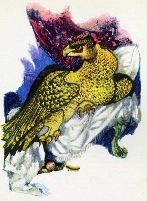 Гриф-птица: сказка братьев Гримм