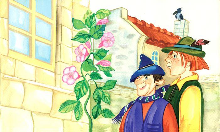 Вор и его учитель: сказка братьев Гримм