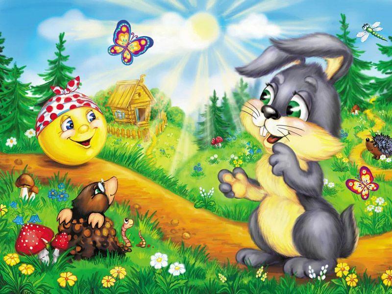 Колобок. сказка народная для детей