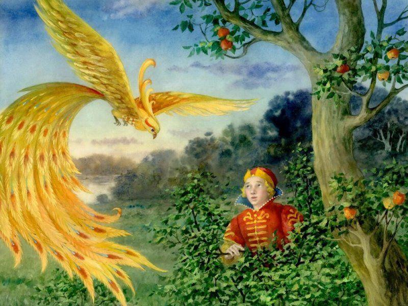 Жар-птица и Василиса-царевна, сказка для детей