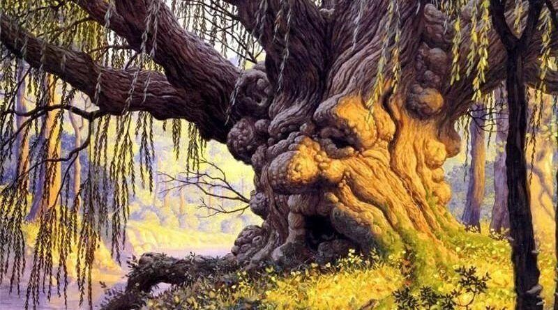 Вещий дуб, русская сказка