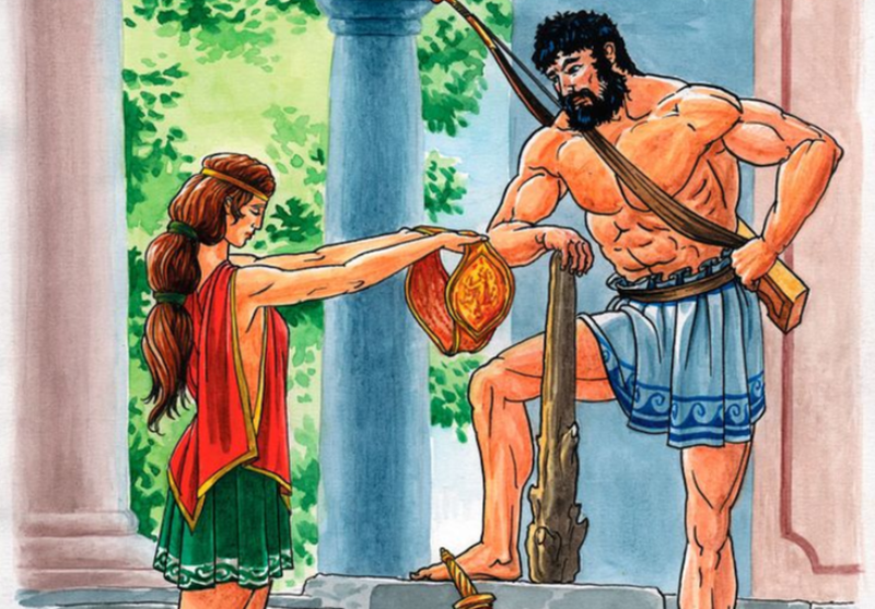 Пояс Ипполиты, девятый подвиг Геракла