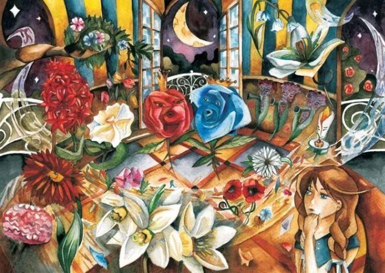 Цветы маленькой Иды: сказка Г.Х.Андерсена