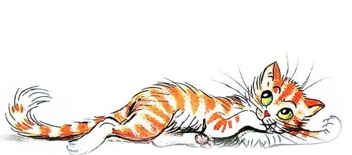 Капризная кошка: сказка Владимира Сутеева