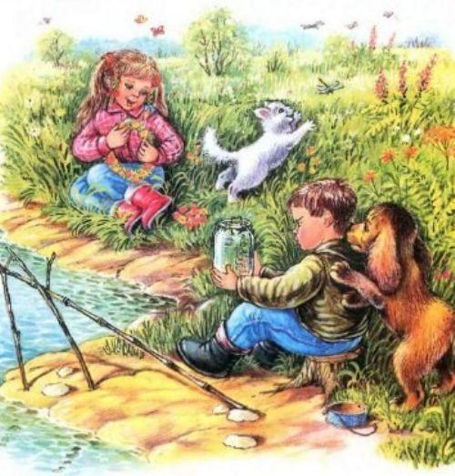 Как я ловил рыбу: сказка Владимира Сутеева