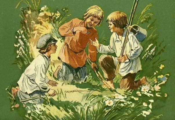 Зеленая кобылка: сказы Бажова П.П.