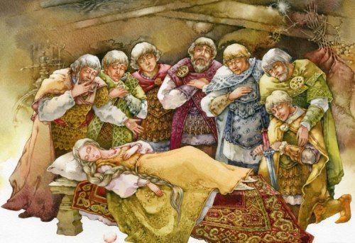 Сказка о мёртвой царевне и семи богатырях / А.С.Пушкин