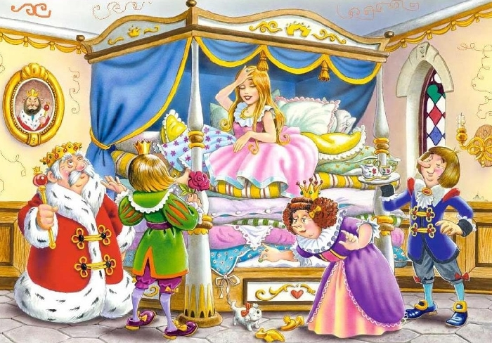 Принцесса на горошине: сказка Г.Х.Андерсена