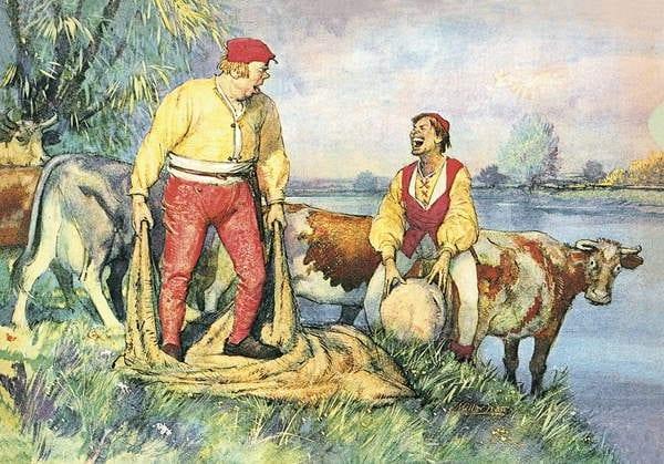 Маленький Клаус и Большой Клаус: сказка Г.Х.Андерсена