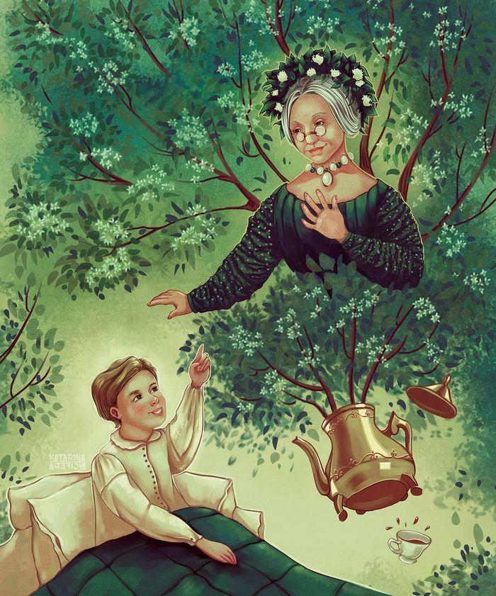 Бузинная матушка: сказка Г.Х.Андерсена