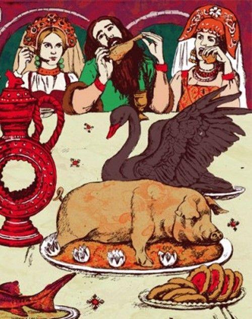 Чародей голод: сказка Лидии Чарской