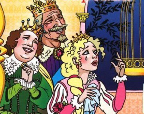 Три слезинки королевы: сказка Лидии Чарской