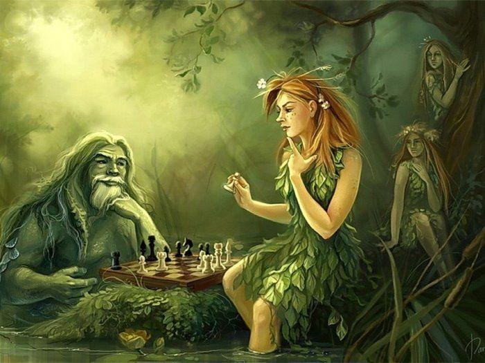 Дочь лесного царя: сказка Лидии Чарской